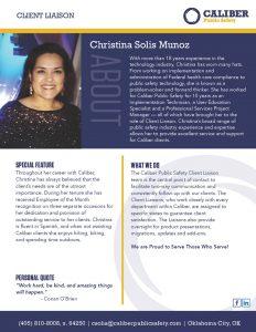 Christina Solis Client Liason