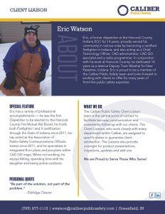 Eric Watson Client Liason