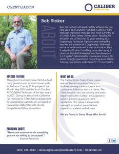 Bob Stoker Client Liason